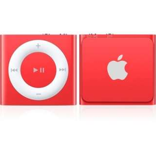 Apple iPod Shuffle 2GB Special Edition Product Red