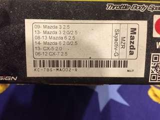 二代 MAZDA3 KC TBS節氣門墊片