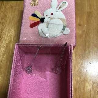 日本購回 小髮夾+收納盒