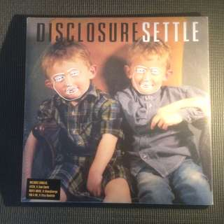 "Disclosure : Settle 12"" LP Vinyl (2013)"