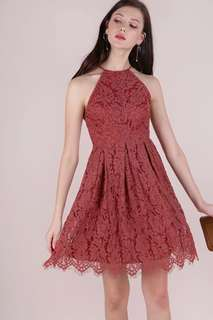 TTR Blossom Halter Lace Dress