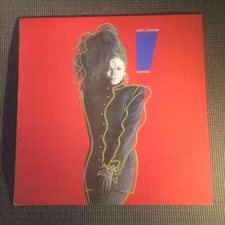 "Janet Jackson : Control 12"" LP Vinyl (1986)"