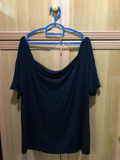Off Shoulder Top big size