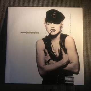 "Madonna : Justify My Love 12"" Vinyl LP (1990)"