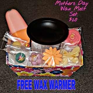 Mothers Day Wax Melt Set
