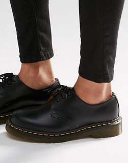 Original Dr. Martens 1461W Black Smooth