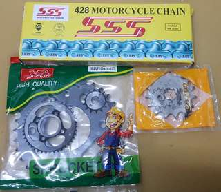 Set Sprocket & Chain