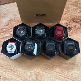 CASIO G-Shock Classic New Colors