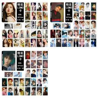 Preorder - KIM JUNGWOO , JAEHYUN, SUZY LOMOCARD *30 PCS + EACH* exc.pos