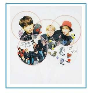 Preorder - BTS Handfan Ver.2 *each* exc.pos