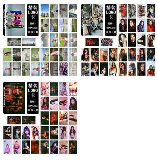 Preorder - MAMAMOO, RV (peek a boo) , RV (bad boy)  LOMOCARD *30 PCS + EACH* exc.pos
