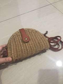 Rattan two way bag