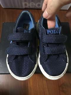 Lightly worn polo Ralph Lauren shoes