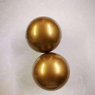 10公分 金色扭蛋球
