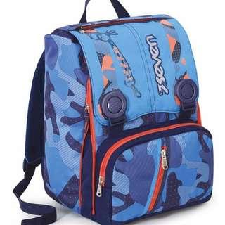 seven school bag