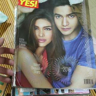 Aldub on Yes 100 Most Beautiful magazine