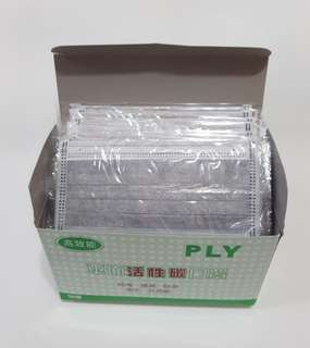 活性碳口罩* 兩盒入