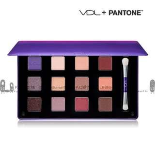 韓國連線預購VDL X PANTONE 宇宙紫12色眼影盤
