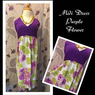 Dress Midi Purple