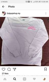 READY STOCK (first pay first served) Apink Pink Space Sweatshirt *size M* exc.pos