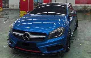 Mercedes A200 local spec sambung bayar