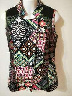 全新 4折 精品 IGD 時尚 幾合 造型背心外套