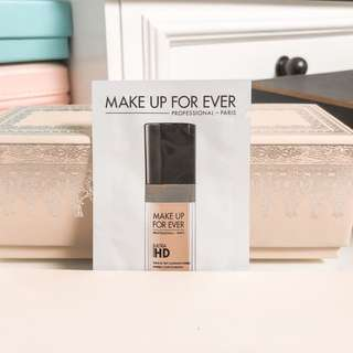 Makeup forever ultra hd liquid foundation makeup sample 120 = Y245 • 1ml