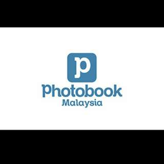 Photobook 6' × 6' hardcover 21 pages voucher