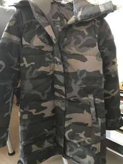 BRAND NEW*Canada Goose Shelburne Parka Black Label in Black Camo, Medium