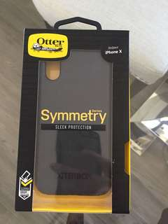 Black Otterbox for iPhone X