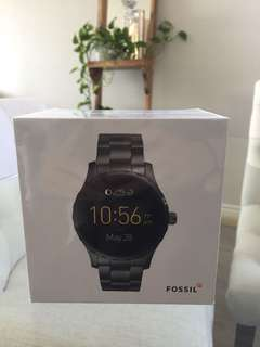 Digital Fossil Watch