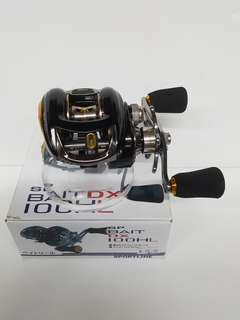 (The New In Place.!- BRANDED BC Reel on Left Hand Model.!?). The Sportline- SP BAIT DX 100HL.(Reel Wt: 203g, Gear ratio: 7.1:1,  Max Drag: 5kg).