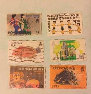 港英時代紀念郵票
