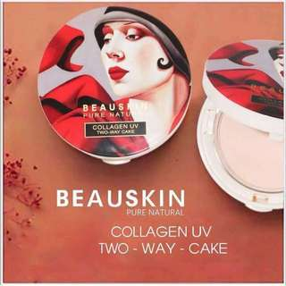 BEAUSKIN COLLAGEN UV PACT with REFILL