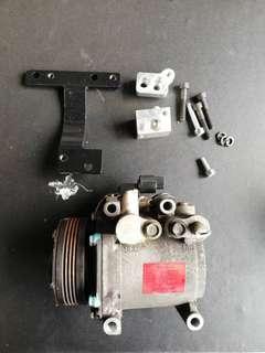 Compressor Mitsubishi Convert Myvi 1st Model