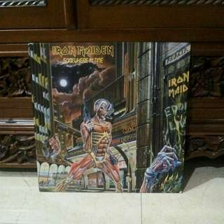 Lp...Vinyl...Iron Maiden - Somewhere In Time