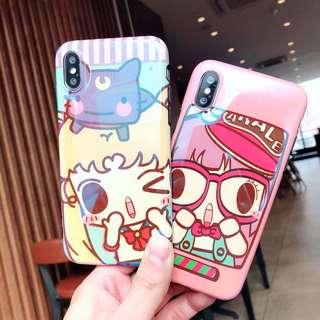韓國直送!小雲 美少女戰士藍光 IPhone case