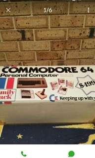 Very first computer COMMODORE 64 still in box
