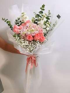Flower Bouquet | Rose Bouquet | Flowers