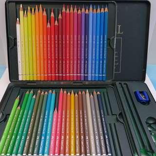 德國 Faber Castel 輝柏嘉 綠盒 專家級 48色 水溶 水彩 木顔色  顔色筆 Water Color $568