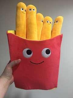 正版薯條玩偶