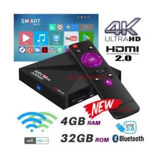 A5x Max: 4G ram + 32G rom + Bluetooth, sport, epl ,, Tv box , android tv box, EPL + android tv box, android tv box latest, android tv 4gb , setup box , android box , android tv box 4k , android tv box astros