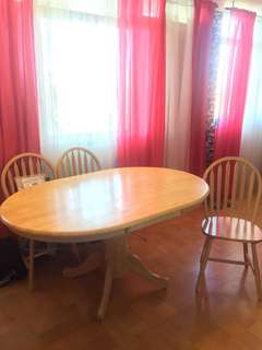 Dining table w/3 chairs