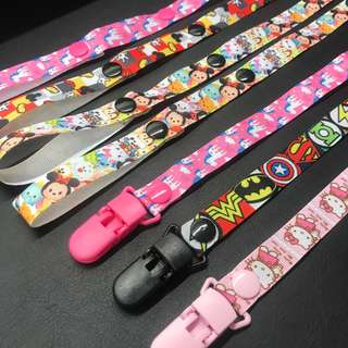 Toy and pacifier clip holder