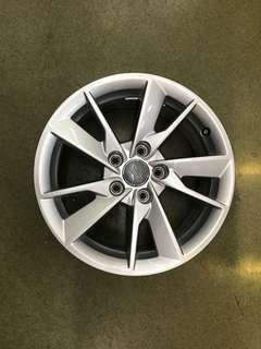 "16"" 5x112 audi original new car rim 1 set 4pc $200"