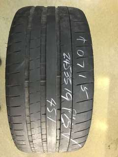 245/35/19 michelin super sport 1pc available pss  45% $50