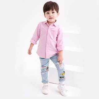 Boy hole jeans pants 5 years old