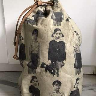 Leather Backpack (single side)