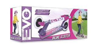HTI Evo Inline Scooter Pink/Purple