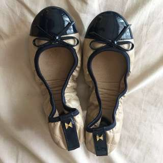 Butterfly Twists Olivia Nude / Navy Ballet / doll shoes ballerinas